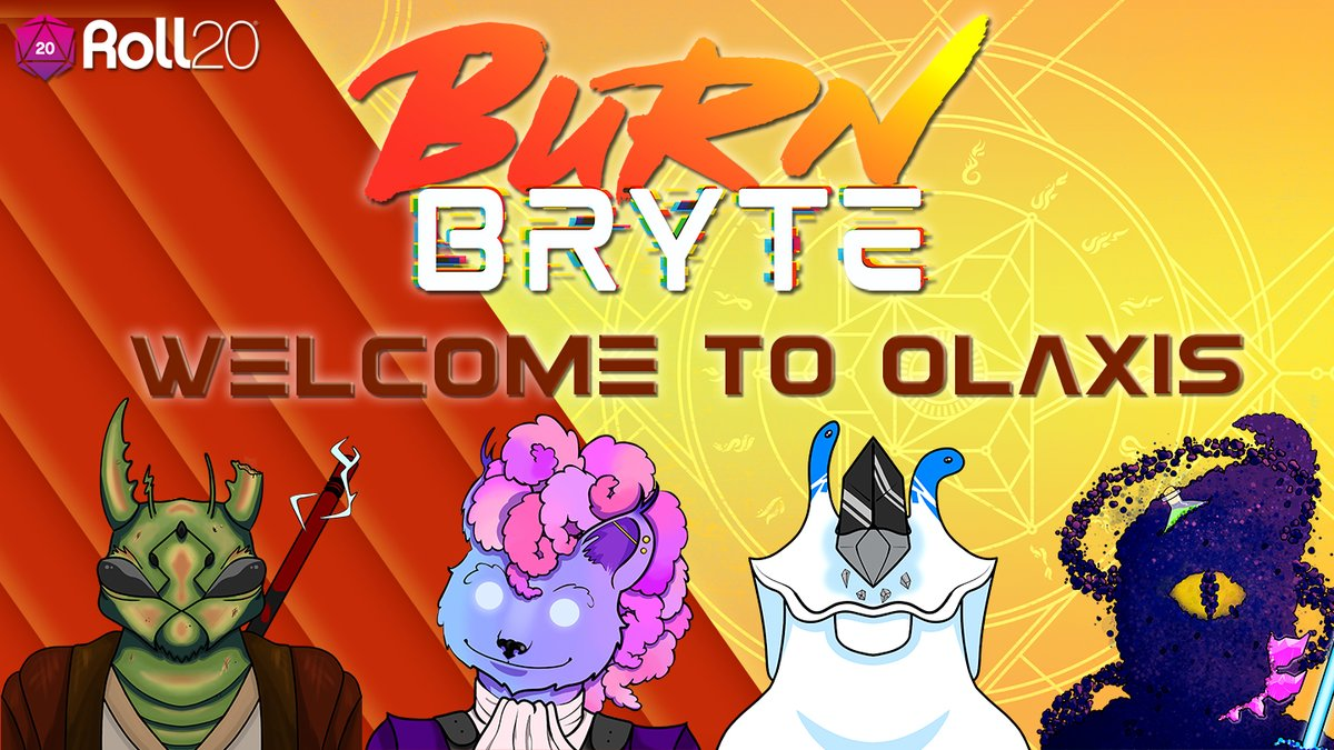 Have you checked out Celeste & Naseem's new 'Burning Daylight' show on @roll20app yet?  If not, now is the perfect time to get caught up on this stellar science fantasy adventure showcasing the new #rpg Burn Bryte! New eps stream every Thursday! VODs here: https://t.co/AyhHlSJ2HR https://t.co/OBZU303TUY