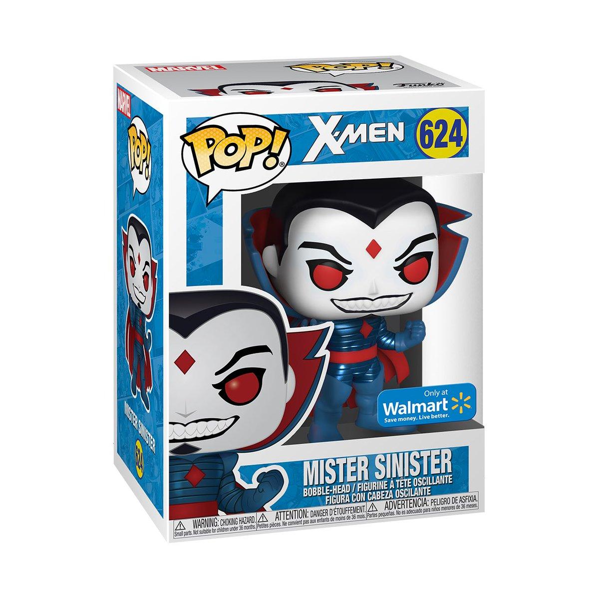 Preorder Now: Walmart exclusive Metallic Mister Sinister Pop! #MisterSinister #Marvel #ad .