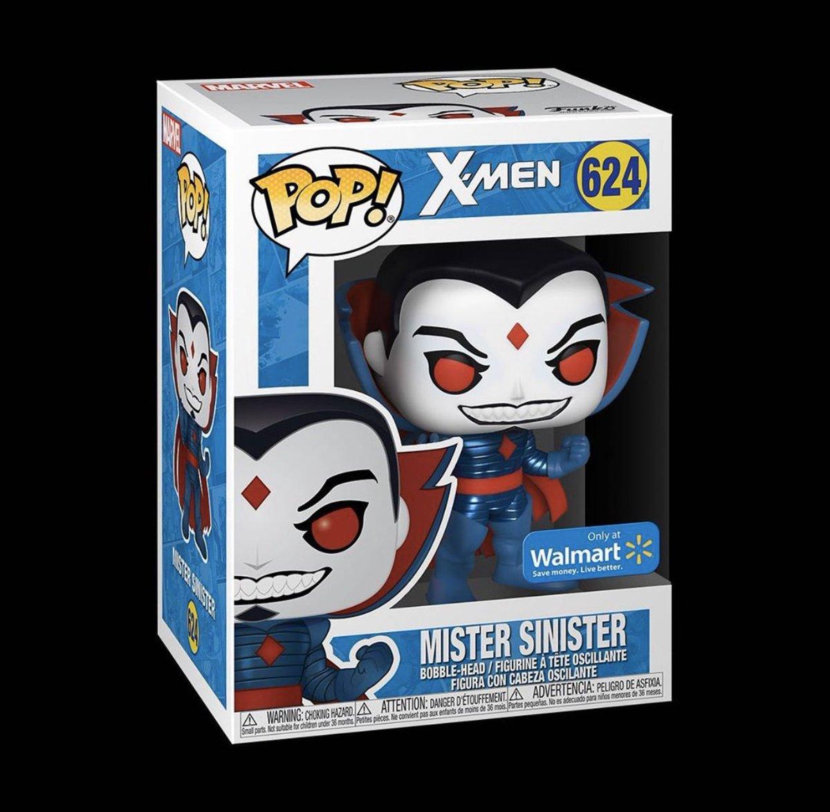 Restock: Walmart Exclusive Mister Sinister!