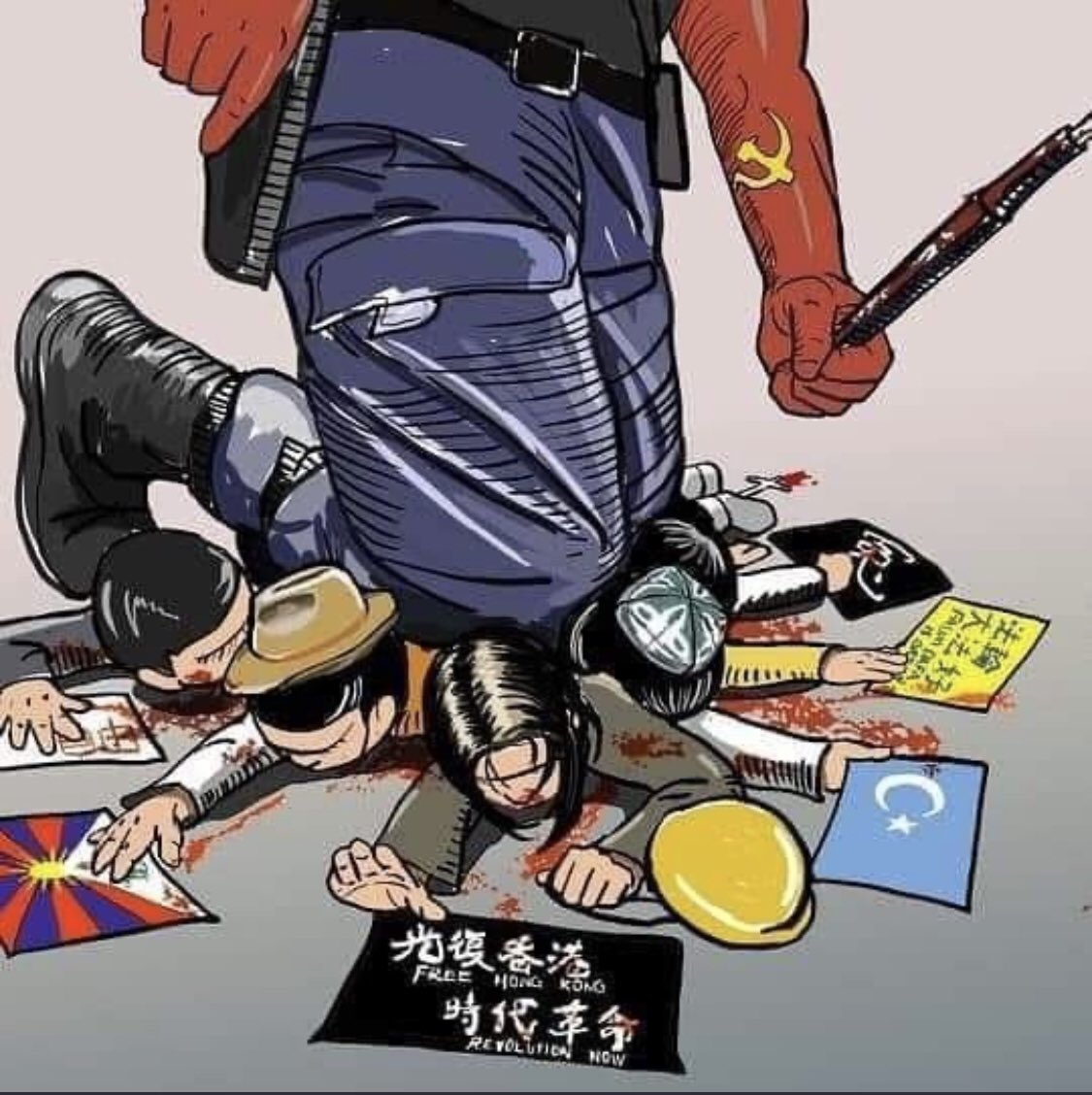 @DavidSweetMP @dorobou0 #CCPChina is the biggest thuggish country in the world! #AntiChinazi #China_is_terrorist #MakeChinaPay #FreeUyghurs #StandWithHongKong https://t.co/RkZDAL0Y30