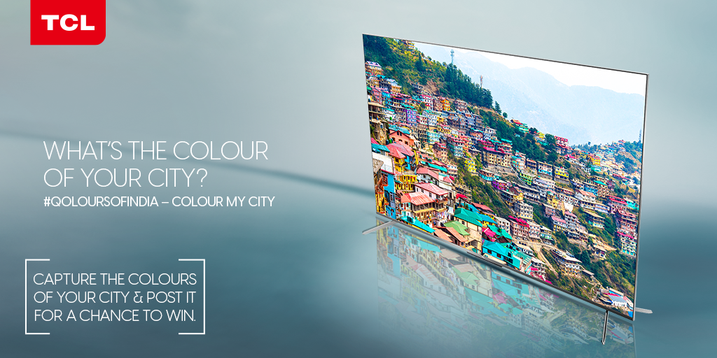 Capture the brilliance of your city using #QoloursOfIndia –   🇮🇳 Tag 3 friends to participate 🇮🇳 Register for TCL membership (https://t.co/R0ZaSghinZ) 🇮🇳 Join TCL Fan Army (https://t.co/IxP5ZmXwMT)   Win a brand new #TCL 50C715 QLED TV T&C Apply (https://t.co/xSOeYync3h) https://t.co/gHWRyimBgM