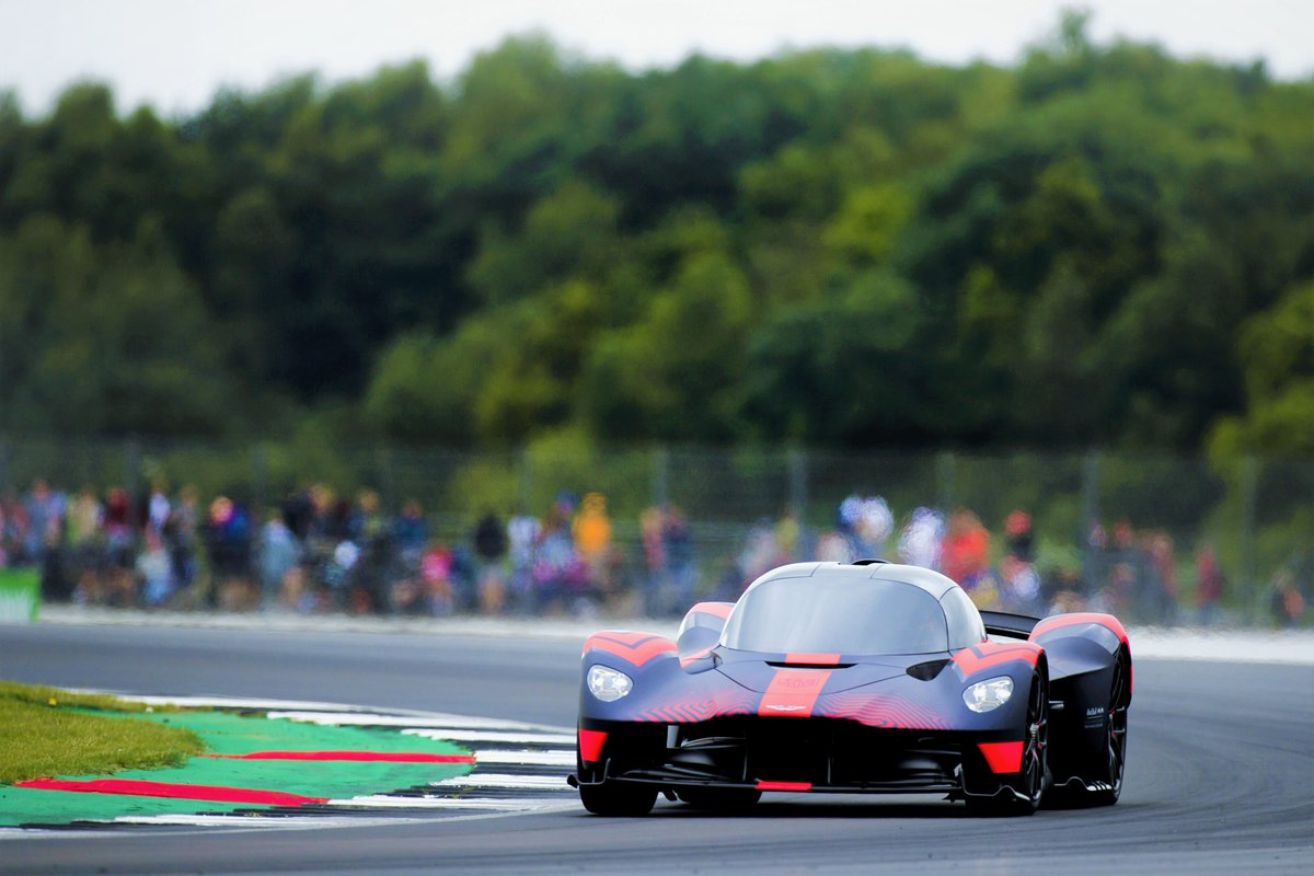 A year ago our first hypercar - Valkyrie - made its dynamic debut at the British GP.  The Bulls are back on track this weekend at @SilverstoneUK to continue our pursuit of beautiful at the 70th Anniversary GP.  #ThePursuitOfBeautiful #AstonMartinRedBullRacing #Valkyrie https://t.co/nVQQ4UJKUX