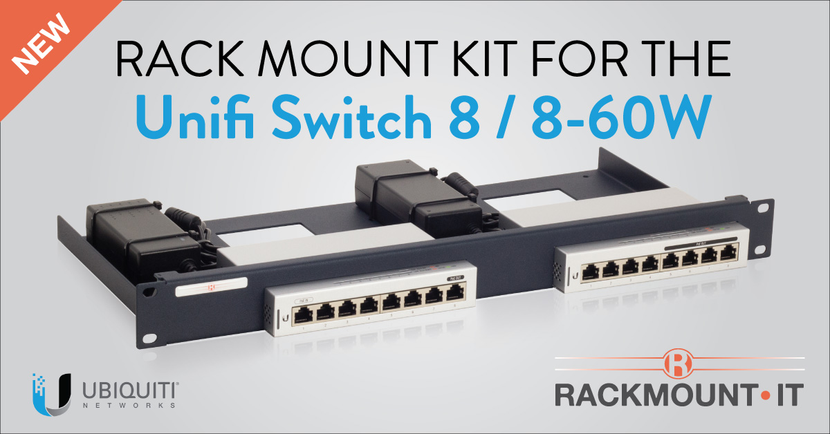 "RT RackmountIT ""NEW PRODUCT! RM-UB-T1 for ubnt Unifi Switch 8 and 8-60W.   #rackmountit #rackmount #ubiquiti #unifi #infosecurity #cybersecurity https://t.co/TsjtXrA9L6"""