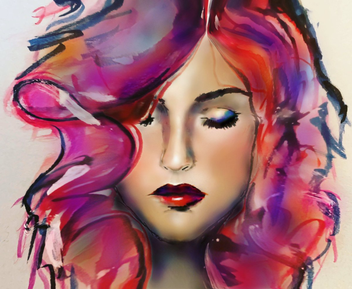 #art #drawing #painting #colour #hair #ArtistOnTwitter #woman #colourburst #loveart #artlover #skin #colourexplosion #lovedrawing #Hobbypic.twitter.com/PWggni7oud