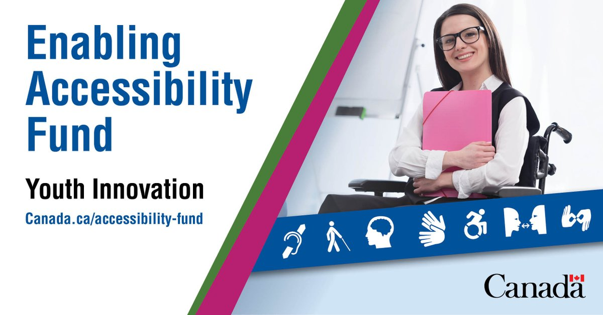 Closes November 30: Eligible organizations that want to support eligible Youth Accessibility Leaders, can apply for up to $10,000 in Enabling Accessibility Fund Youth Innovation. We can help you apply. Visit: http://dogoodfundraising.ca/enabling-accessibility-fund-eaf-for-youth-innovation/… #Funding #Grants #Accessibility #Youthpic.twitter.com/wTYvV9ZYjy