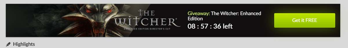 The Witcher: Enhanced Edition is free on GOG for the next 9 hours 2