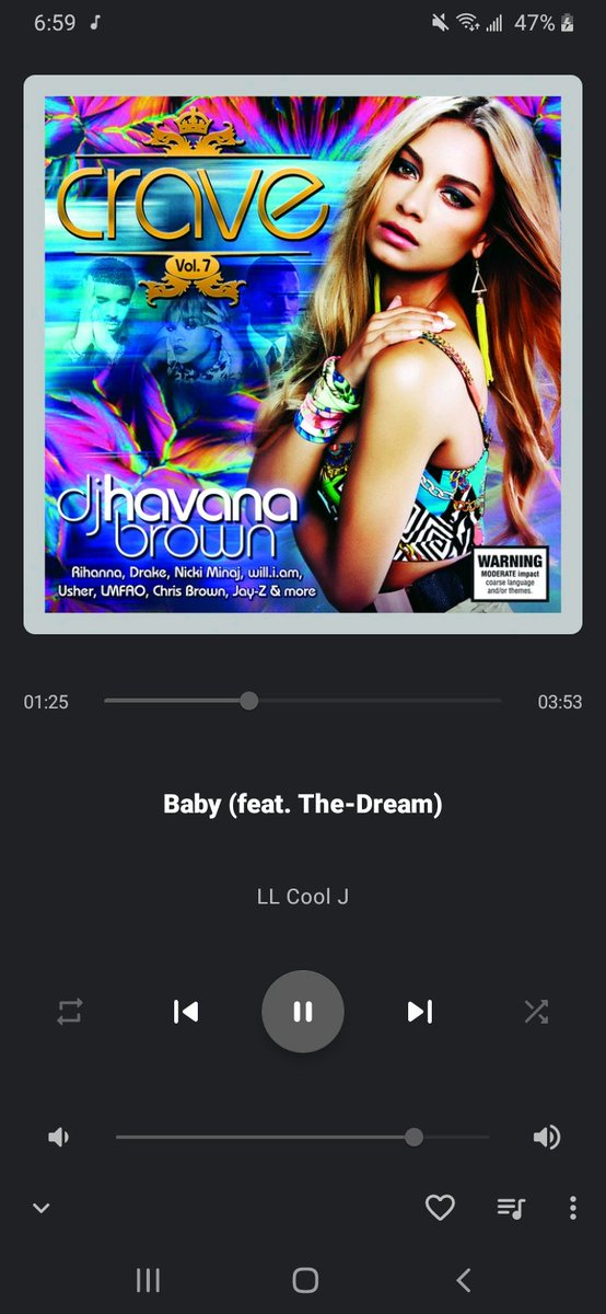 Had to throw Vol. 7 back on @djhavanabrown 🎶😌 https://t.co/CnllPY6diA