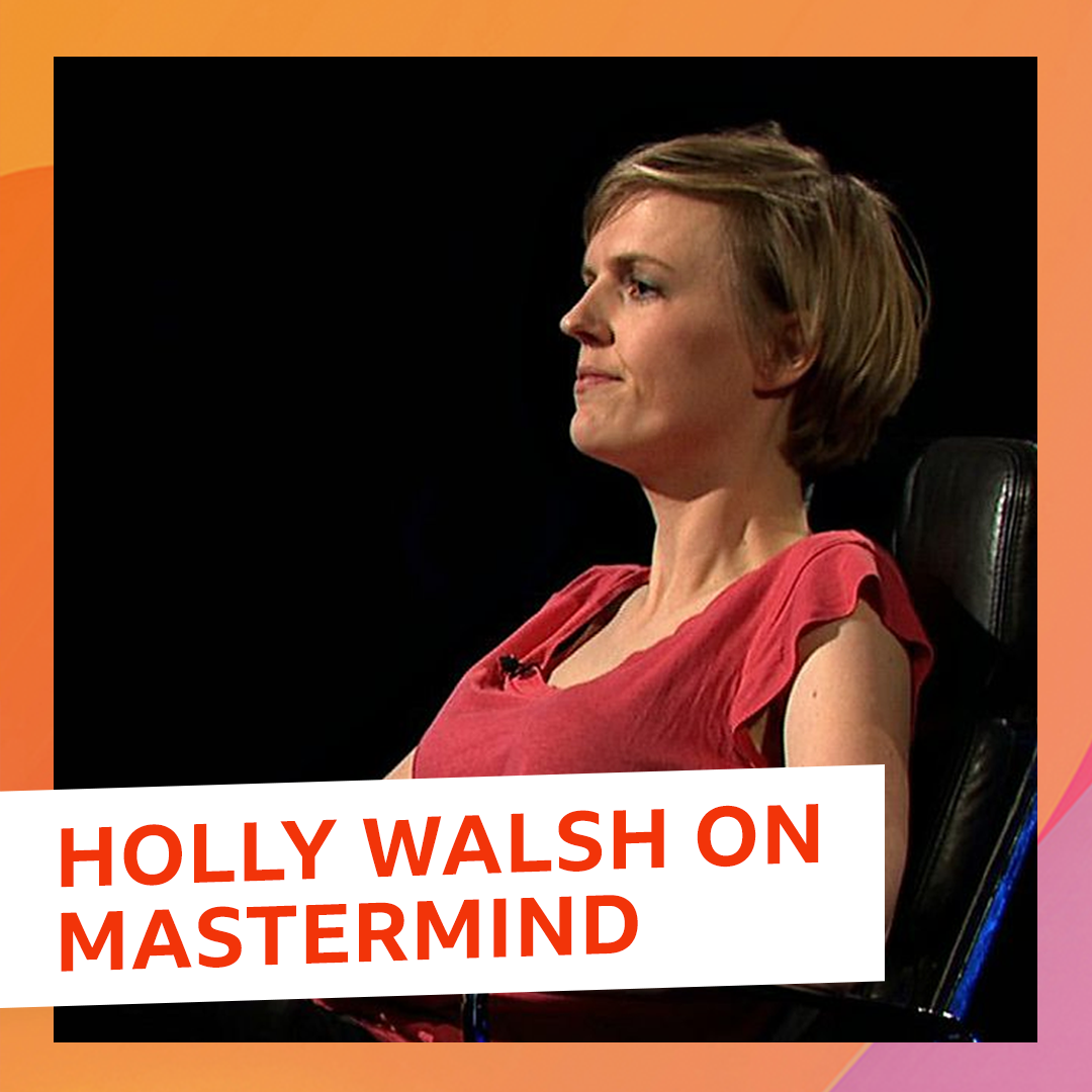What would your @mastermindquiz specialist subject be?  Comedian Holly Walsh (@wiggywalsh) remembers the time she competed against our very own @realkenbruce!  Hear more from @zoetheball's show on @bbcsounds. https://t.co/VETZLoslcd