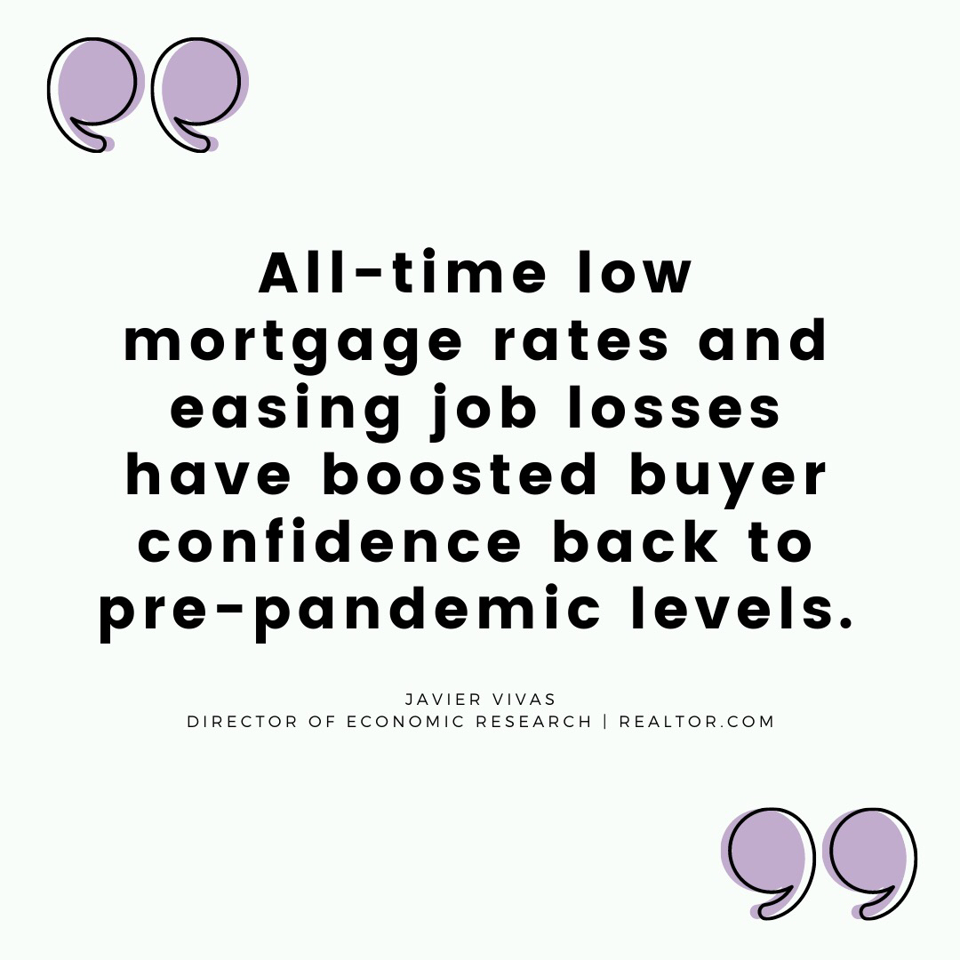 Your time to buy a home is now because interest rates are the low, that means you can qualify for a bigger home. Things move pretty fast in the real estate market today, my clients are prepared and ready when placing an offer on a home. Link in bio, let's get started! pic.twitter.com/48Ym4tNG6e