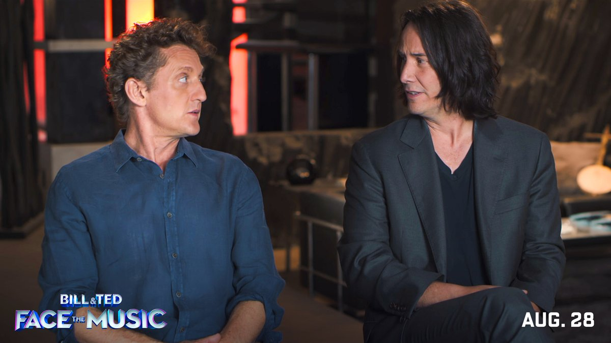 It takes a most triumphant duo to unite the world!  Get a behind-the-scenes look at the casting process for Bill & Ted Face the Music, and don't miss it On Demand and in theaters 8/28. @Winter #FaceTheMusic #BillAndTed3 pic.twitter.com/BkV3xum29V