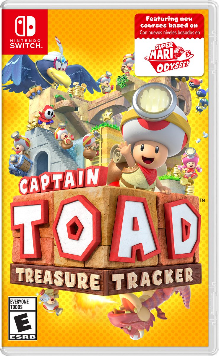 Captain Toad: Treasure Tracker (Switch) is $32.84 on Amazon Link0 Walmart Link1