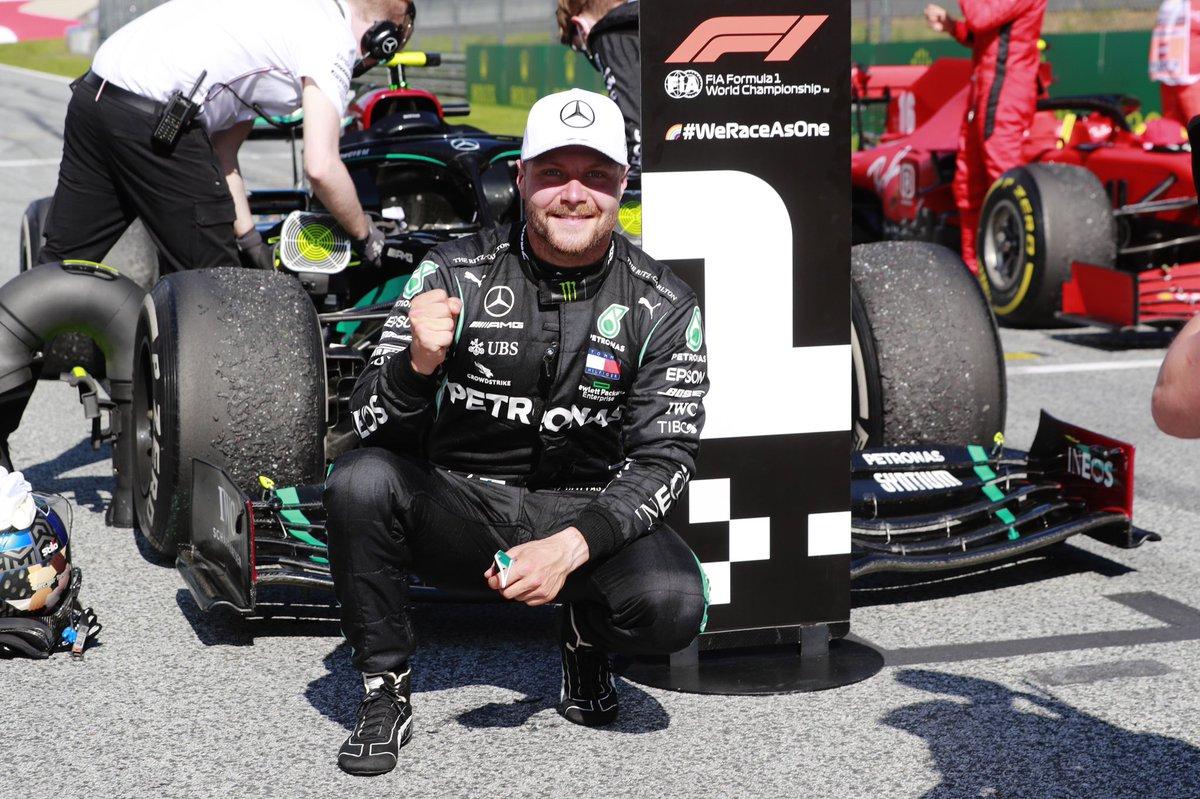Valtteri Bottas est prolongé chez Mercedes pour 2021. #F1 https://t.co/ImC6lMf6WA