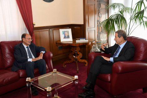 """Musumeci incontra Schifani, """"Impegno per aumentare controlli sull'emergenza migranti"""" - https://t.co/TbTGZqkg3y #blogsicilianotizie"""