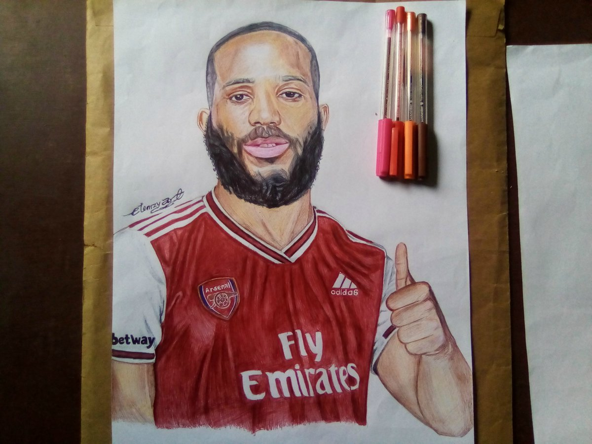 Hi guys, this is my entry for the Betway flex your ink challenge #BetwayFYI I decided to draw @The_Kiddwaya as a new arsenal signing sponsored by @BetwayNigeria #bbnaijalockdown2020 #betway #KiddErica