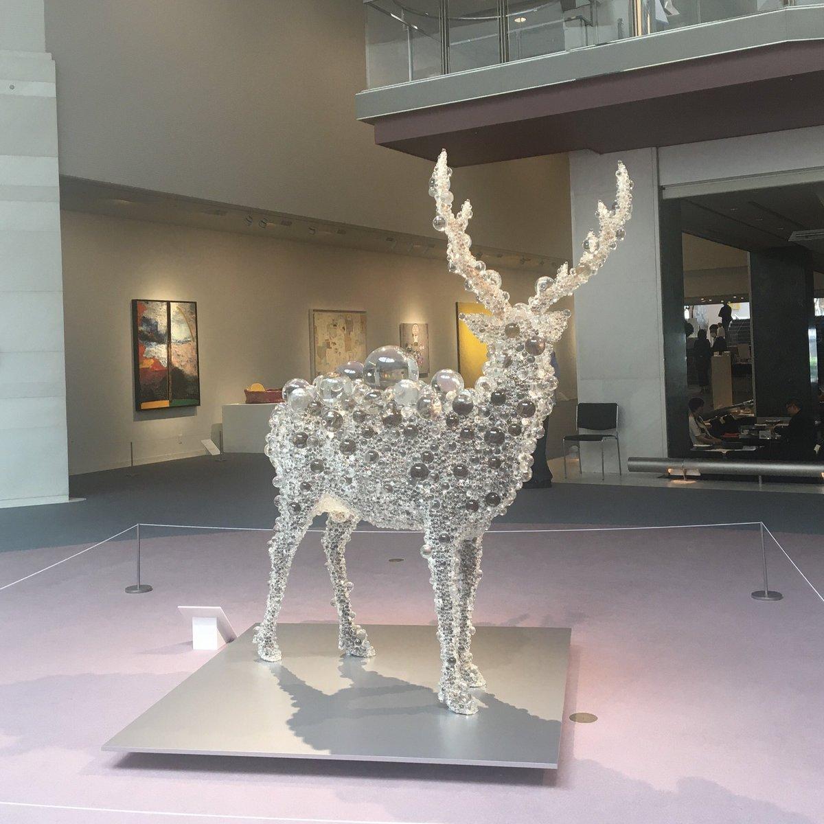 Voicy配信しました🎉今週のみどり美術館はOKETA COLLECTION💗について!ずっと見たかった名和さんの作品を紹介しています😭美しい〜