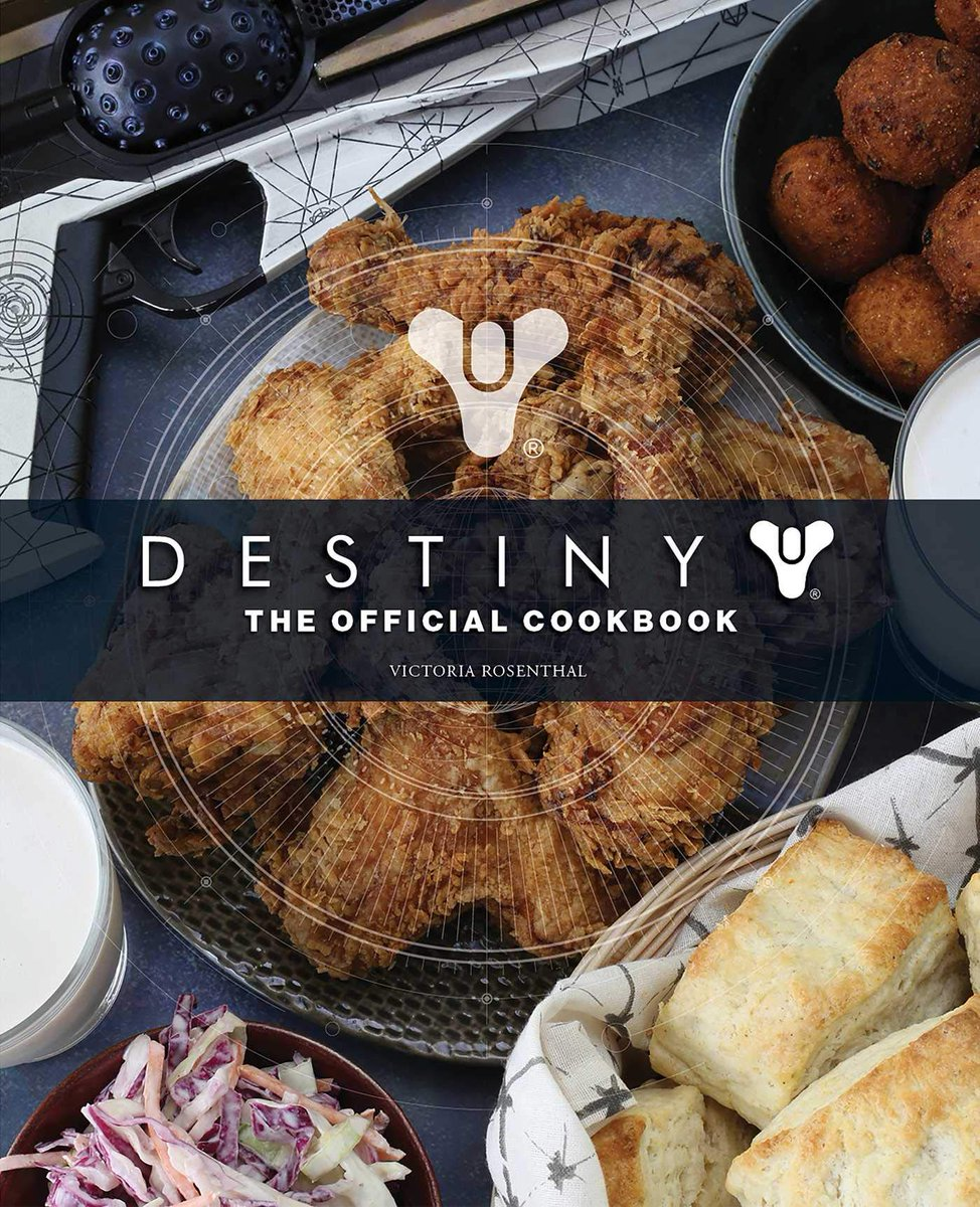 Destiny: The Official Cookbook is $23.86 on Amazon (32% off, 208 pages) 2