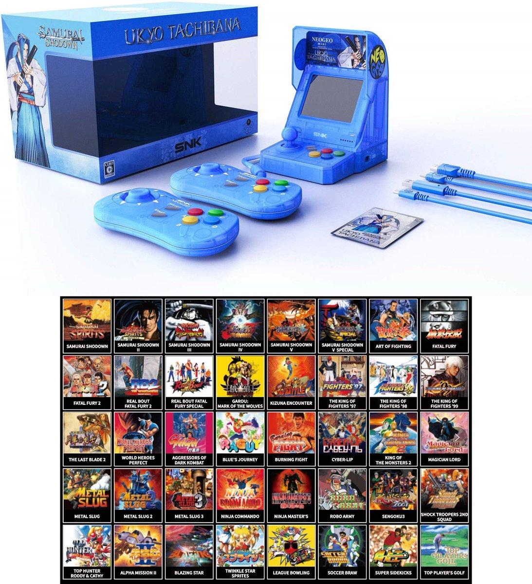 SNK NEOGEO Mini Samurai Shodown Limited Edition Bundle: Ukyo Tachibana is $88.39 on Amazon 2