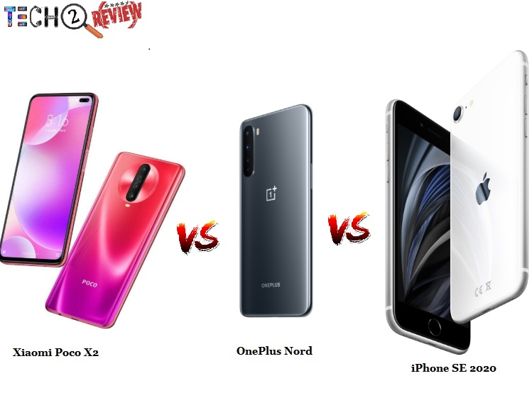 Here we've drafted a comparison between OnePlus Nord vs iPhone SE (2020) vs Xiaomi Poco X2. Check out now.  https://bit.ly/3ifqaeA  #techtoreview  #POCOX2  #iPhoneSE  #OnePlusNord  #smartphones  #gadgets  #mobile  #Phone  #COVID19  #StayHomeStaySafe  #StayHomepic.twitter.com/0oi6nTMs6k