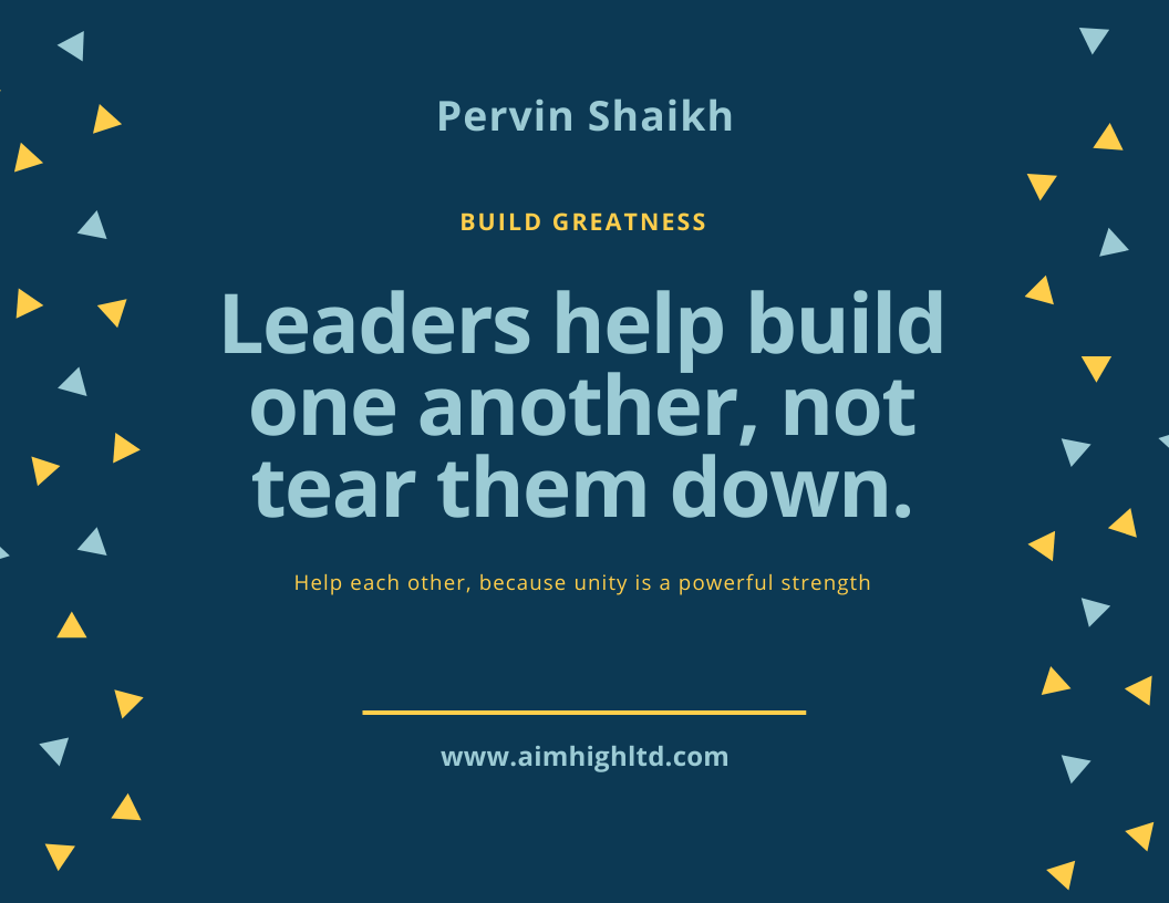 Personal leadership is about helping one another, not tearing them down.   #AimHigh #makeyourownlane #entrepreneur #leadership #successtrain #mpgvip #defstar5 #thursdaymotivationpic.twitter.com/Swl1ZOKii2