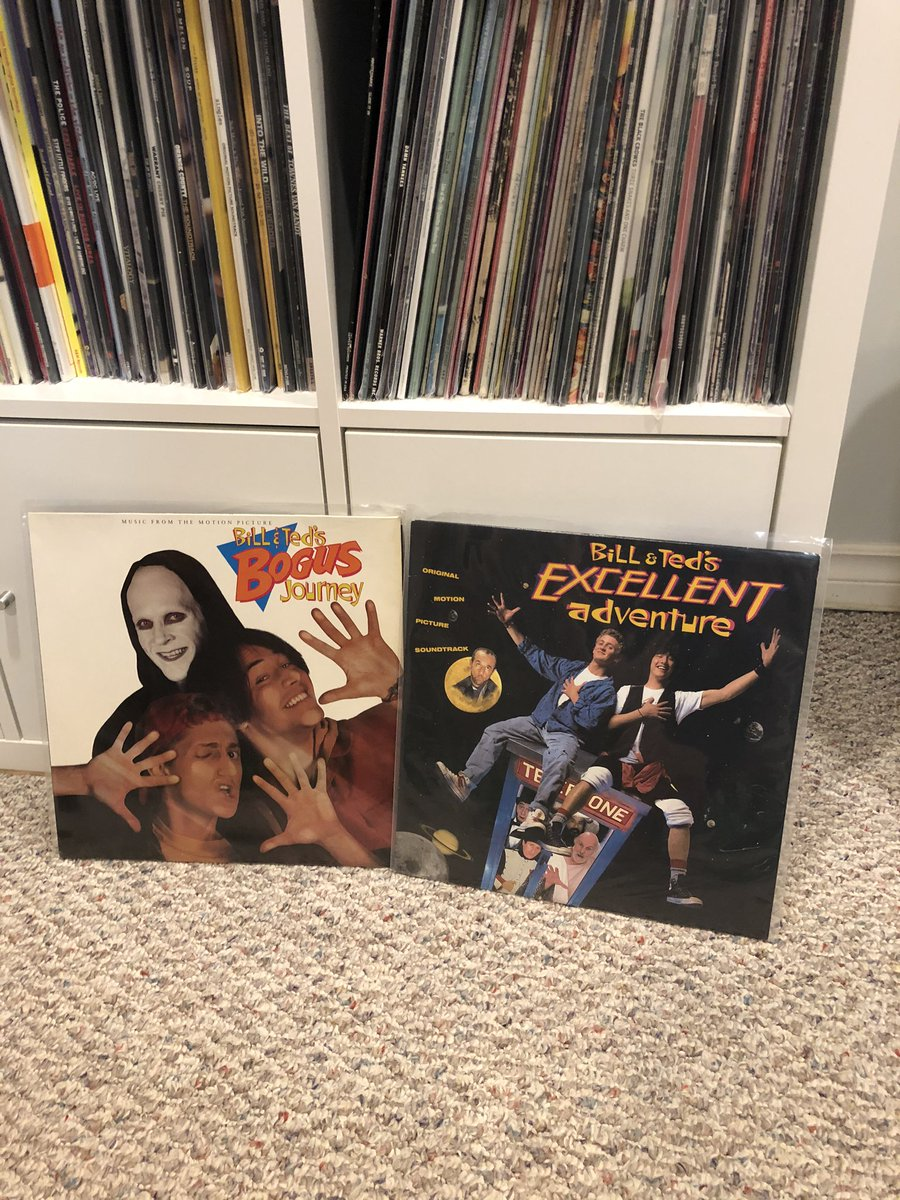 I hope there a vinyl soundtrack to #BillandTed3. I need to add it to complete my set! pic.twitter.com/6jcrAOEN1G