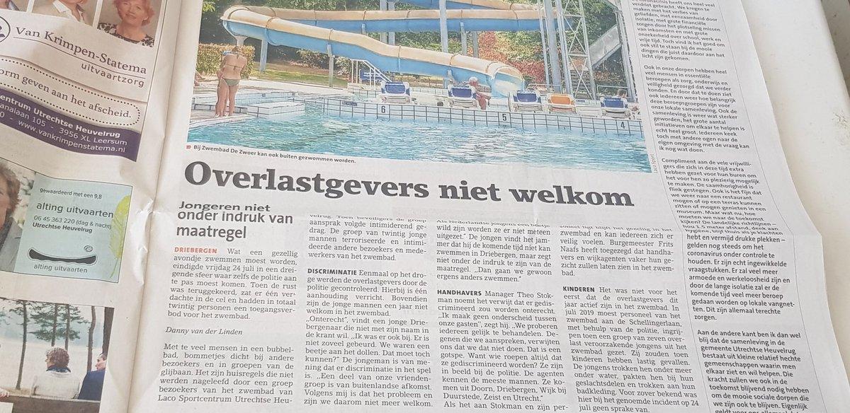 Zwembadtuig voelt zich weer eens gediscrimineerd. Het enige woord dat ze accentloos kunnen uitspreken. https://t.co/zNwm9jW0gD