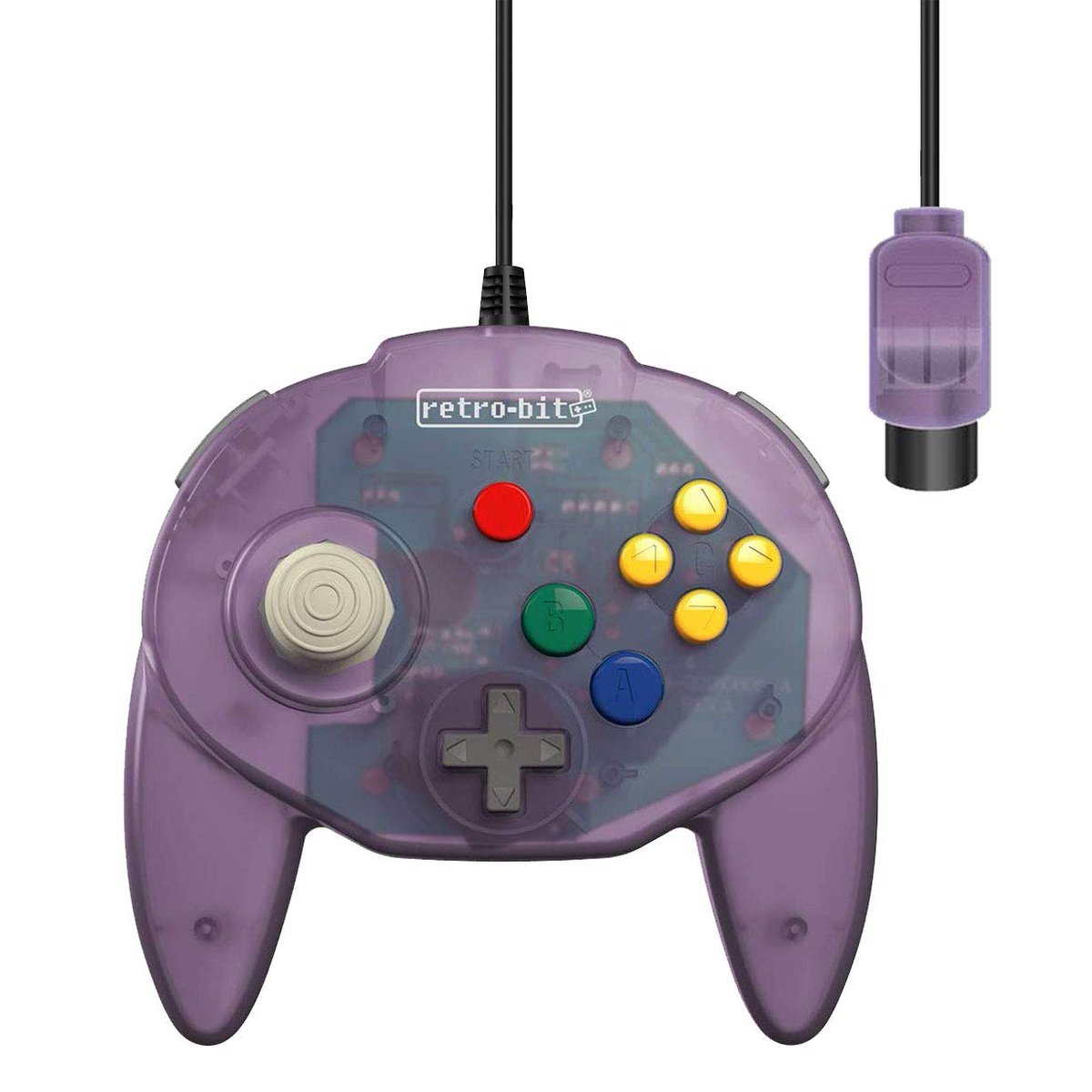 Atomic Purple Retro-Bit Tribute 64 Wired N64 Controller for Nintendo 64 is $21.10 on Amazon 2