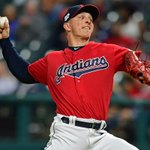 Image for the Tweet beginning: Cleveland @Indians reliever James Karinchak