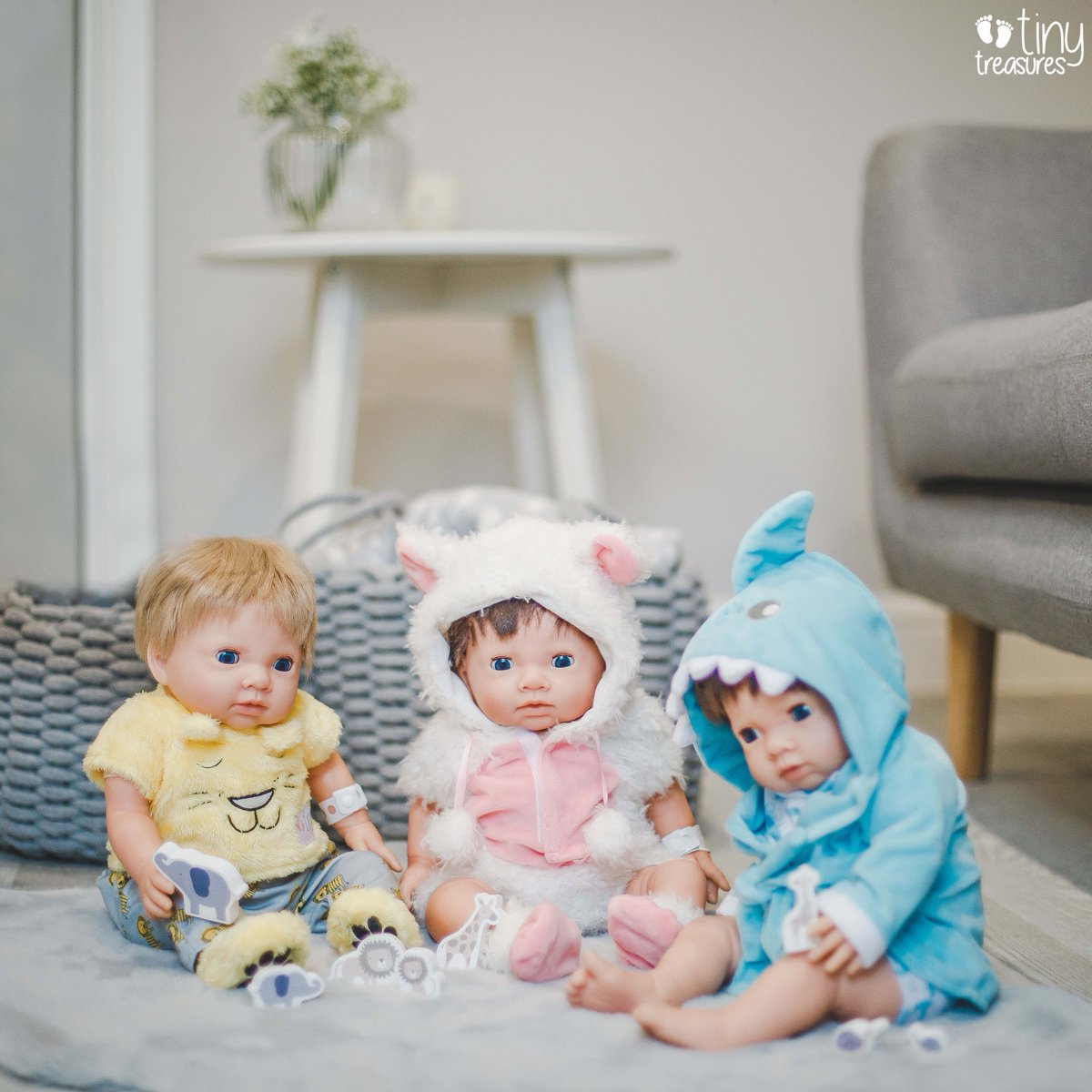 These Tiny Treasures are looking super comfy in there new outfits! Has your TT got a new outfit yet? . . . . #reborndolls #newborn #roleplay #newbornphotography #tinytreasures #newbornphotoshoot #rebornbaby #dollstagram #dolls #babies #outfitofthedaypic.twitter.com/oqlakgFPZk
