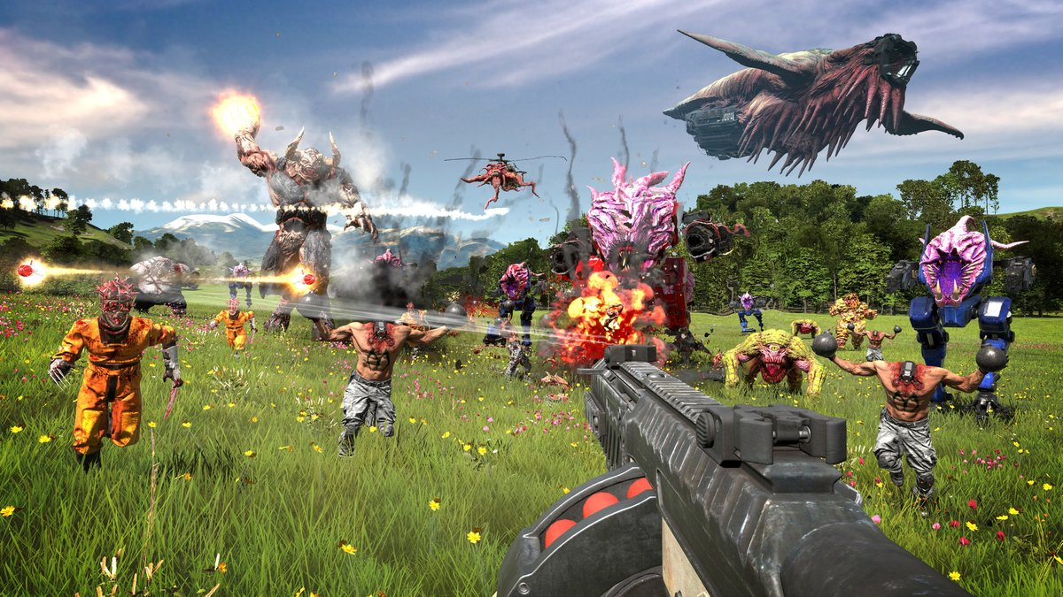 Serious Sam 4 now coming on September 24th on Steam 2