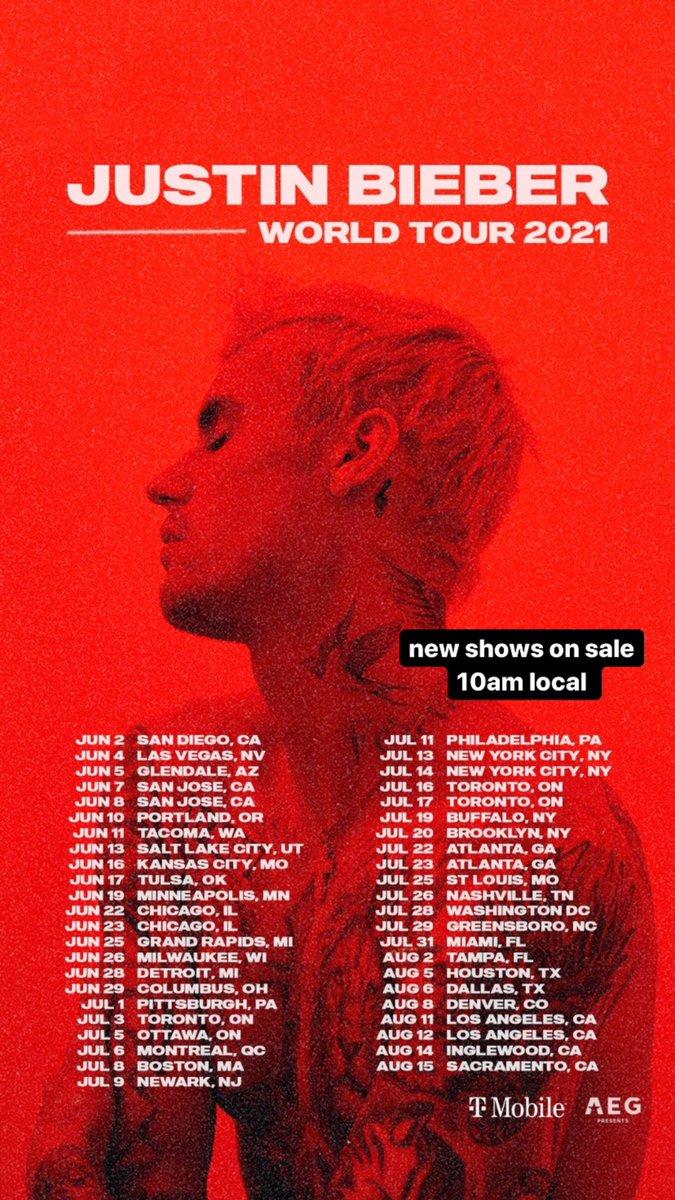 Tour @justinbieber