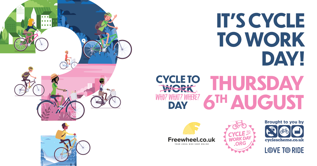 #CycletoWorkDay is today! This year you can ride anywhere with anyone. Camden has committed to installing more cycle lanes throughout the borough. Plan your route here: https://t.co/fmqNlKQz3Y  @FitzPartnership  @EustonTown https://t.co/YsCMft6Sqv