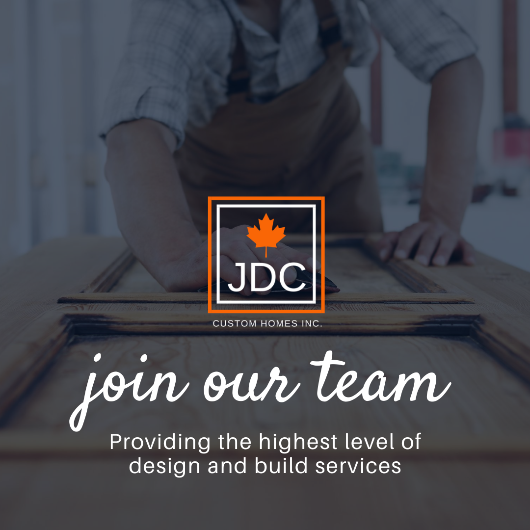 Join The JDC Team. We are always looking for outstanding members to join us.  #JDCCustomHomes #HomeBuilders #FamilyOwned #CustomHomes #Cottages #Renovations #Additions #Collingwood #Shelburne #Orangeville #Caledon #Muskokapic.twitter.com/avr6zRWsGf