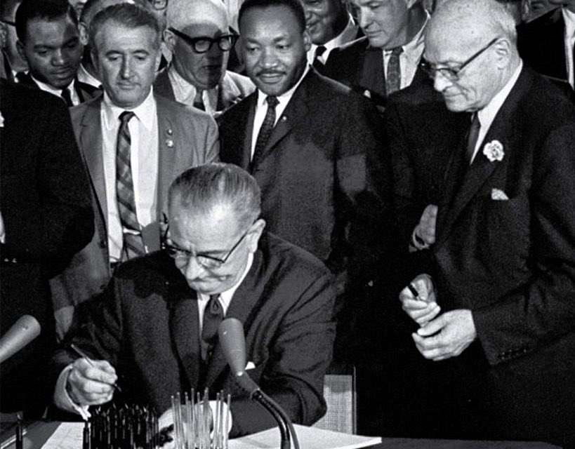 Today marks the 55th anniversary of the Voting Rights Act of 1965, which came just months after my father, John Lewis, and countless others marched in Selma, Alabama, to fight for the right to vote. https://t.co/sKIi89SUw7
