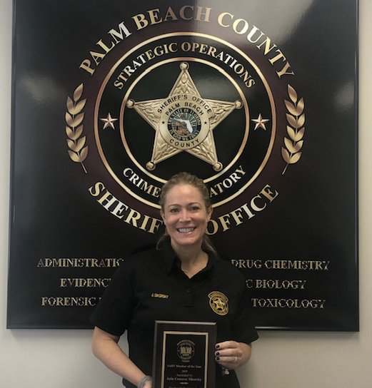Pbso On Twitter We Want To Congratulate Julie Sikorsky Pbso S Forensic Biology Unit Manager For Being Chosen As 2019 Sart Sexual Assault Response Team Member Of The Year Her Contributions Are Too
