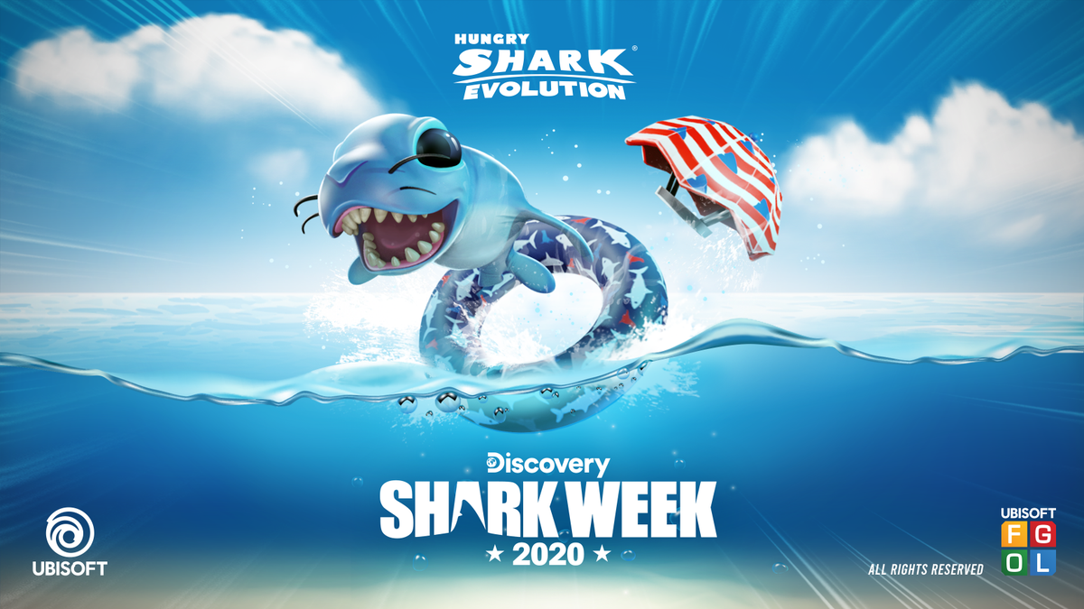 """Hungry Shark Games on Twitter: """"Still sleeping on your Shark Week Pack on  #HungrySharkEvolution? The official #SharkWeek starts in 2 days! Get the  summer vibes on – https://t.co/CW1uCTPWLw… https://t.co/ucRokuFnYm"""""""