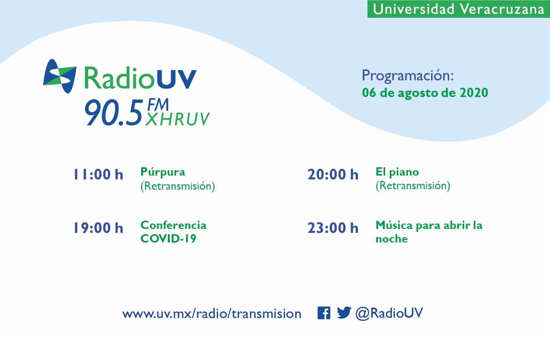 Ya sea en casa, el trabajo o en el auto, Radio UV es tu mejor compañía. 😉 Conoce la programación de hoy: 📻 90.5 FM 📲 App Radio UV 💻 https://t.co/WfczY0S4Qx https://t.co/RblARZfjP5