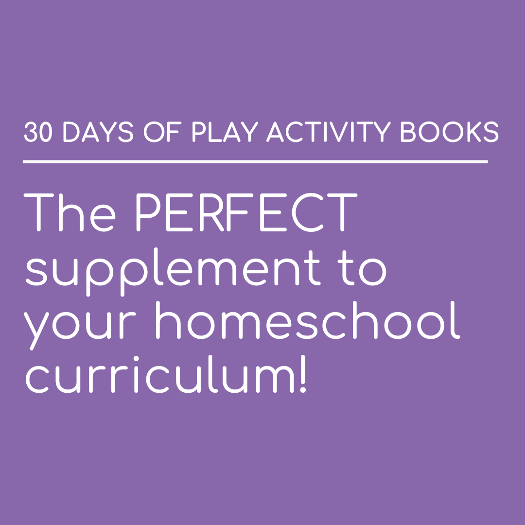 C|C 30 Days of Play Activity books are the perfect supplement to your homeschool curriculum!! Have you tried them out?pic.twitter.com/ypmvguSDgF