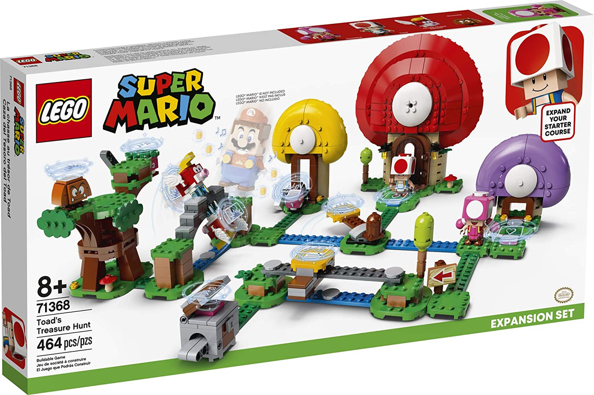 LEGO Super Mario Toad's Treasure Hunt Expansion Set is in stock on Amazon: Link0|Link1|Link2|Link3|Link4|Link5|Link6|Link7|Link4|Link9