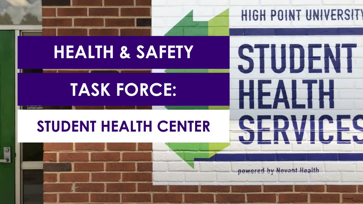 HPU has renovated & opened a new space for Student Health Services. 💜 The 6,500-sq-ft space includes separate entrances for those with respiratory symptoms, 8 exam rooms & 12 full-time staff members, including 2 full-time medical providers.