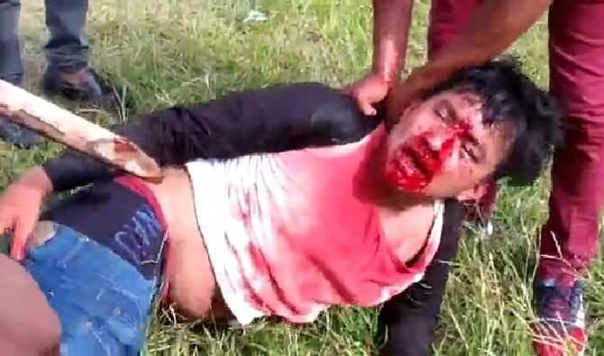 Linchan a presunto roba motos en Cunduacán