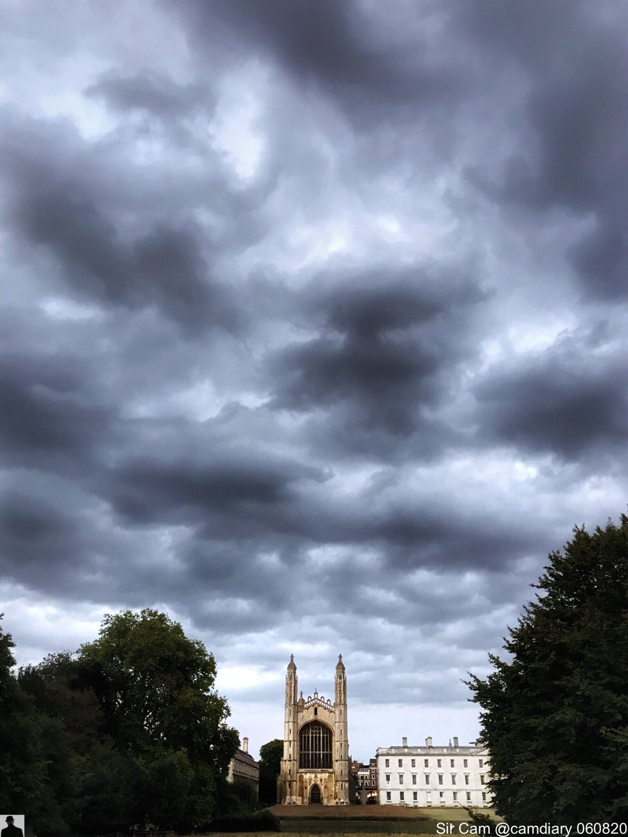 Cambridge 6 August 2020.