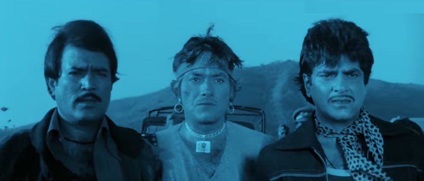 Jail Se Faraar Yeh Mere Bete Hain, DIG Saab! Ab Main Inhein Kanoon Ke Hawale Karta Hoon!   #RaajKumar #Jeetendra #RajeshKhanna #BollywoodFlashback #80s #ThrowbackThursday #muvyz #muvyz080620pic.twitter.com/qFpyOIV74k