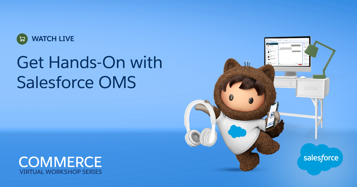 Upgrade your order management skills on August 11:   ✅ See live demos of the ✨new✨ Salesforce Order Management ✅ Get insight into how to make your ecommerce business seamless ✅ Connect commerce and service experiences   Register today: https://t.co/oNn4OVM3ng https://t.co/GgpxYsggWx