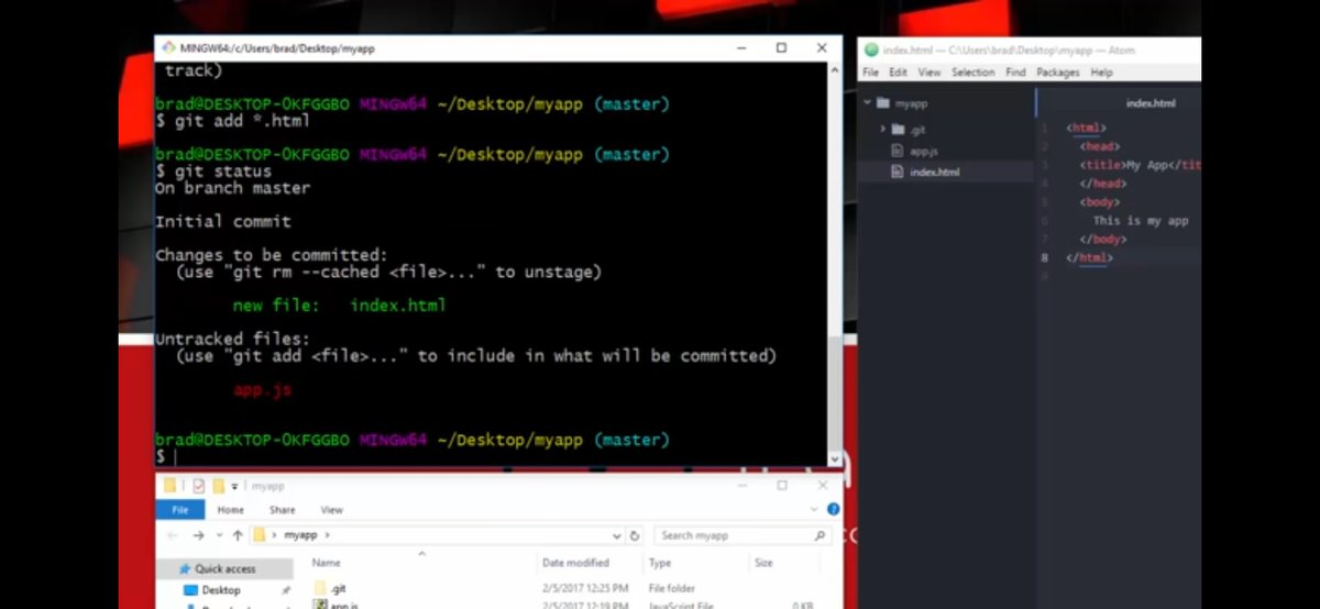 Day 8 of #100DaysOfCode  Learnt about version control, Git & GitHub. Done some hands on of Git Commands. #CodeNewbie #WomenWhoCodepic.twitter.com/esaVm3cf08