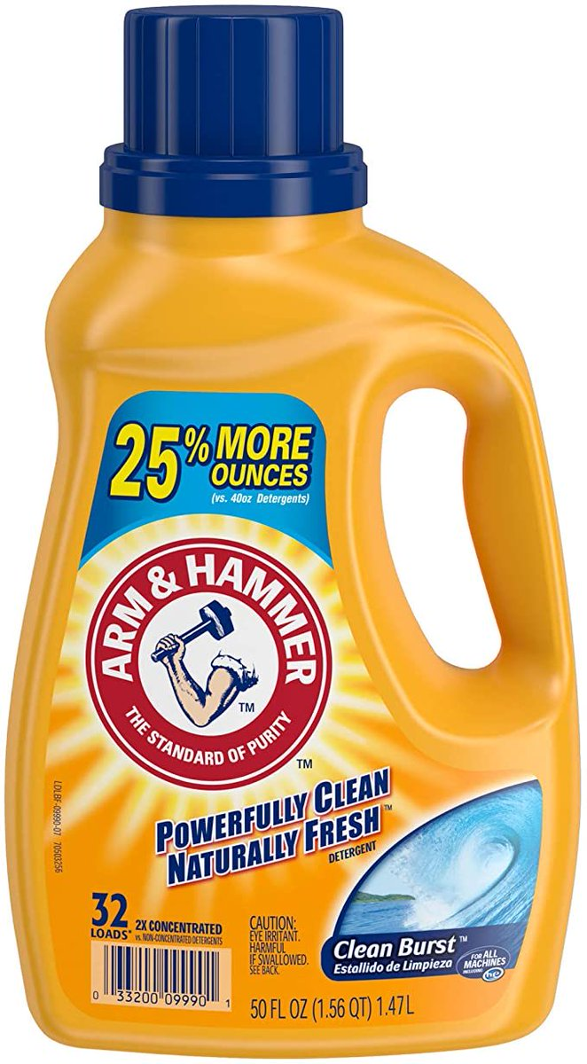 Arm & Hammer Clean Burst Liquid Laundry Detergent, 32 Loads  Only $2.87!!!