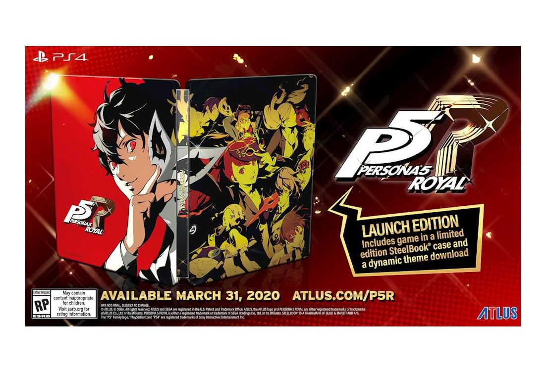 Persona 5 Royal Launch Edition (PS4) $39.99 via Best Buy. 2