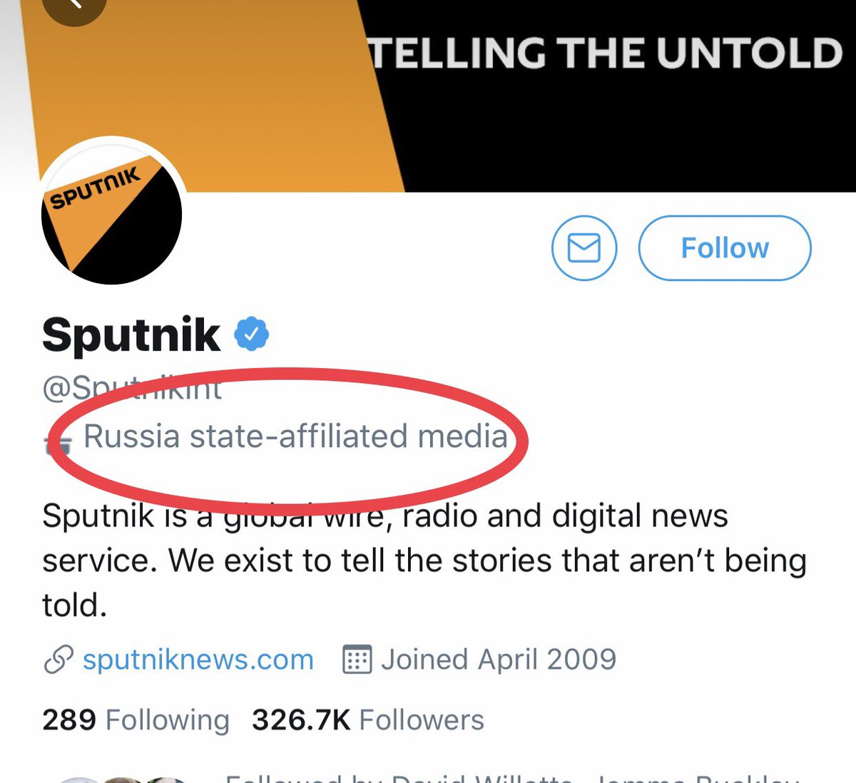 Interesting: Twitter has now started labelling certain news organisations as state-affiliated-media. Here are examples from @SputnikInt @RT_com and @CGTNOfficial