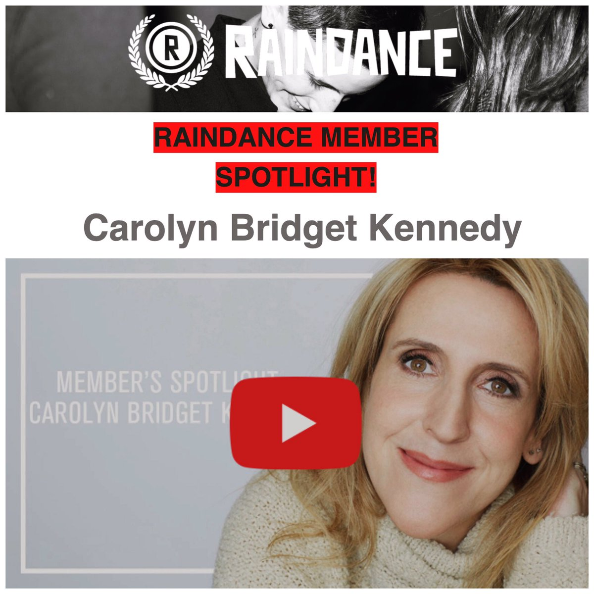 Thank you @Raindance for featuring me in the Member Spotlight of your newsletter!  #actor #filmmaker #writer #actorslife #raindance #losangelespic.twitter.com/0lChT05mh6