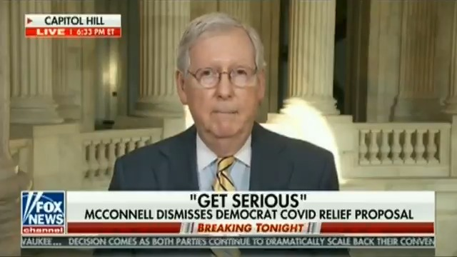ICYMI, I joined @FoxNews to discuss Democrats' obstruction of the COVID-19 relief negotiations, how Republicans tried to keep extra unemployment benefits from expiring, and the need to keep small-business aid flowing.