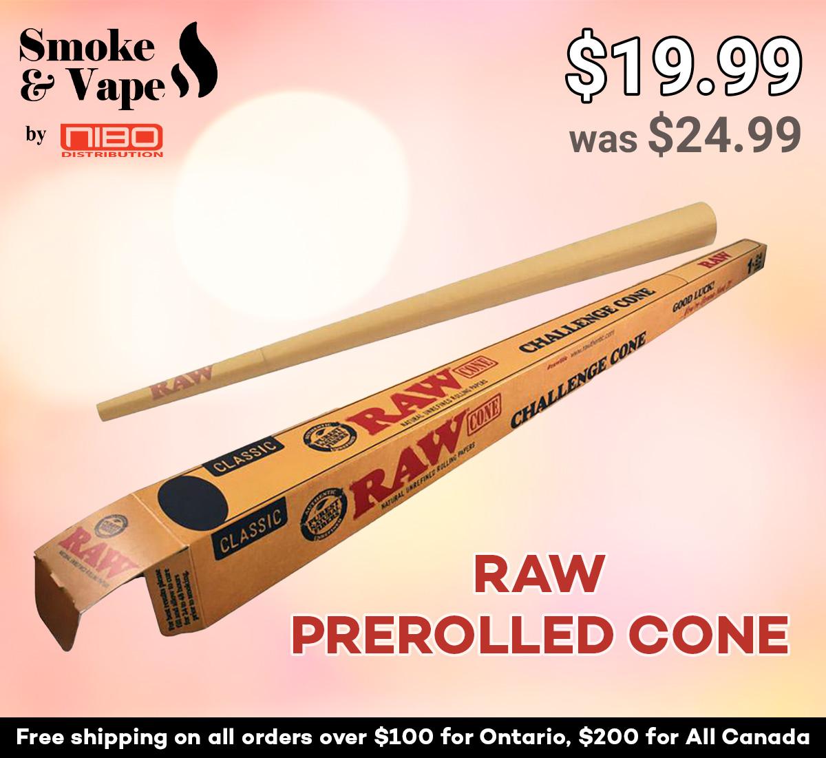 "RAW PREROLLED CONE - CHALLENGE (24"")  https://t.co/VeYSBEPMsL  #RAWPREROLLEDCONE #CONEMAESTRO #RAWTIPS #RAWPREROLLED #RawTubes #raw_rolling #tray #rawtray #smokeVape #smoking_accessory #rawtraymini #mini #mini_tray #canada #smoking https://t.co/aPFLG2PY28"